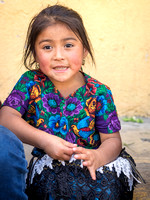 I am Guatemala — Mayan girl