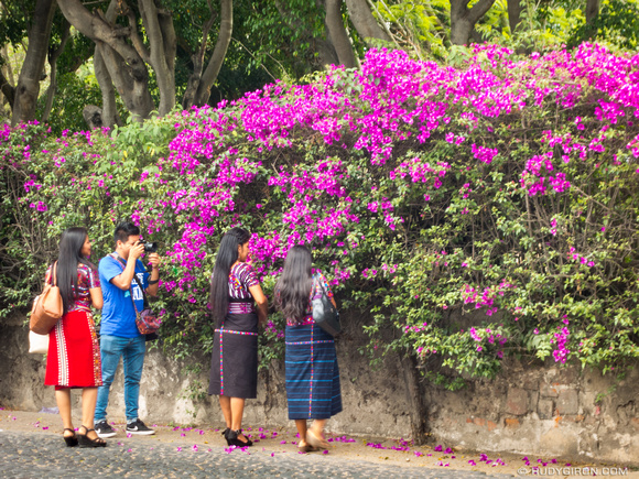 It's picture time in Antigua Guatemala