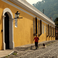 Morning Runs in La Antigua Guatemala