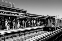 Street Photography — Train 7 at Court Square