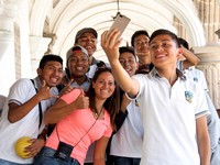 Antigua Makes Me Happy - Group Selfies