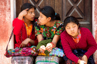 Three Guatemalan Girls