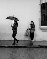 Street Photography — Coping with the rain in Antigua Guatemala