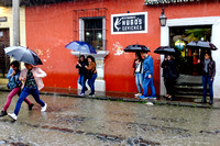 It's Umbrella Time in Antigua Guatemala