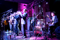 Big Wy's Brass Band at Guatemala's Jazz Festival in Antigua Guatemala_