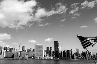 Street Photography — NYC Skyline with UN building in the middle