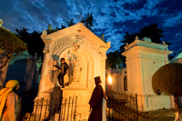 Night Photography Inside San Lázaro Cemetery-1