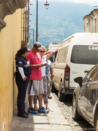 Confusing Parking Ordinance of Antigua Guatemala