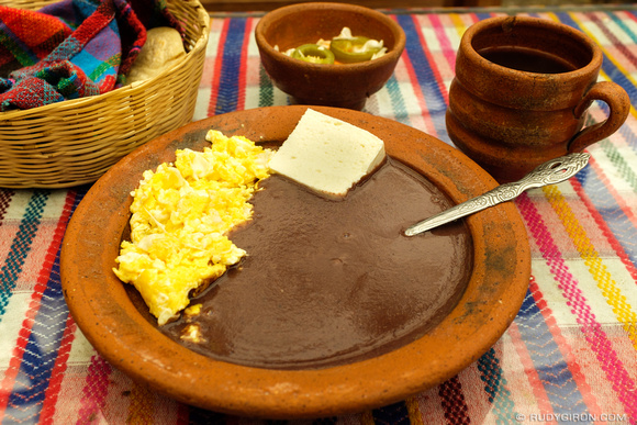 Guatemalan Traditional Breakfast