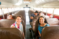 Experience a chicken bus ride with the Pueblo Photo Walks