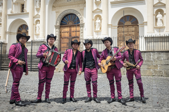 Mexican Music Band in Antigua Guatemala