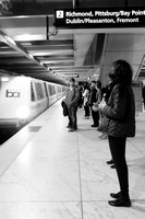 Street Photography — Typical SF Bart scene