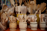 Wooden Kitchen Utensils from Guatemala