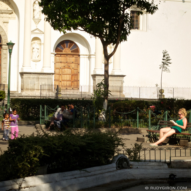 Rudy Giron: Instagrams &emdash; Sunbathing during the Rainy Season in Antigua Guatemala